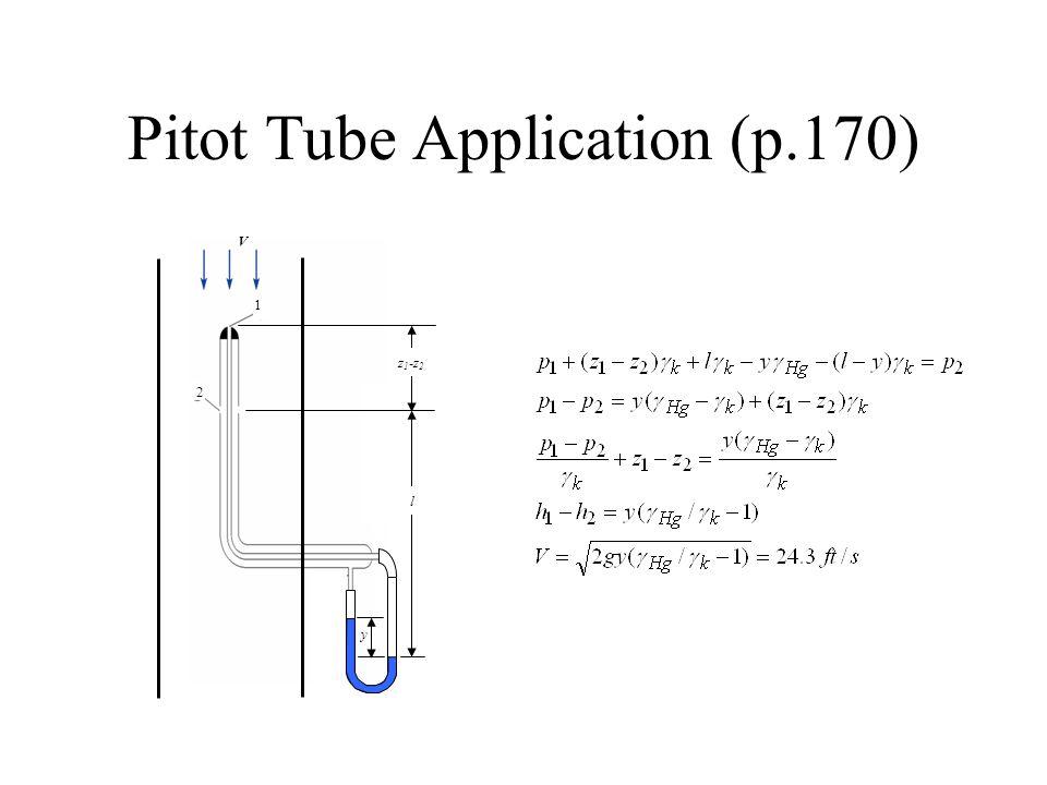 Pitot Tube Application (p.170)