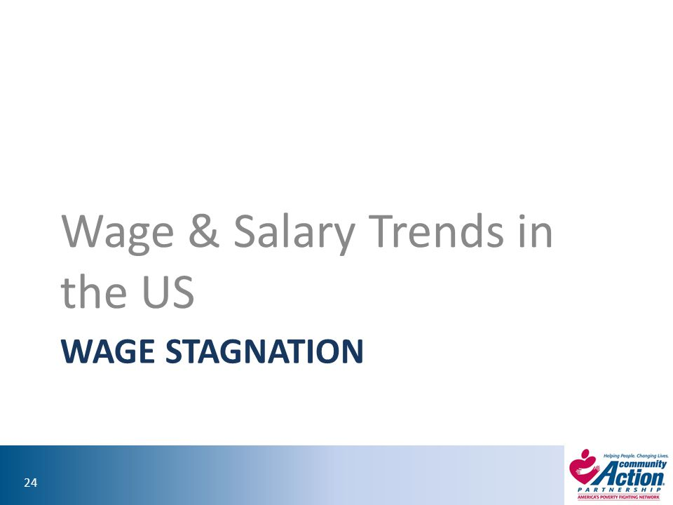 Wage & Salary Trends in the US