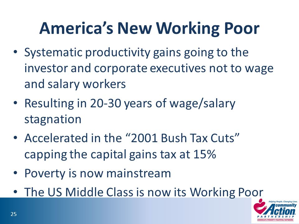America's New Working Poor