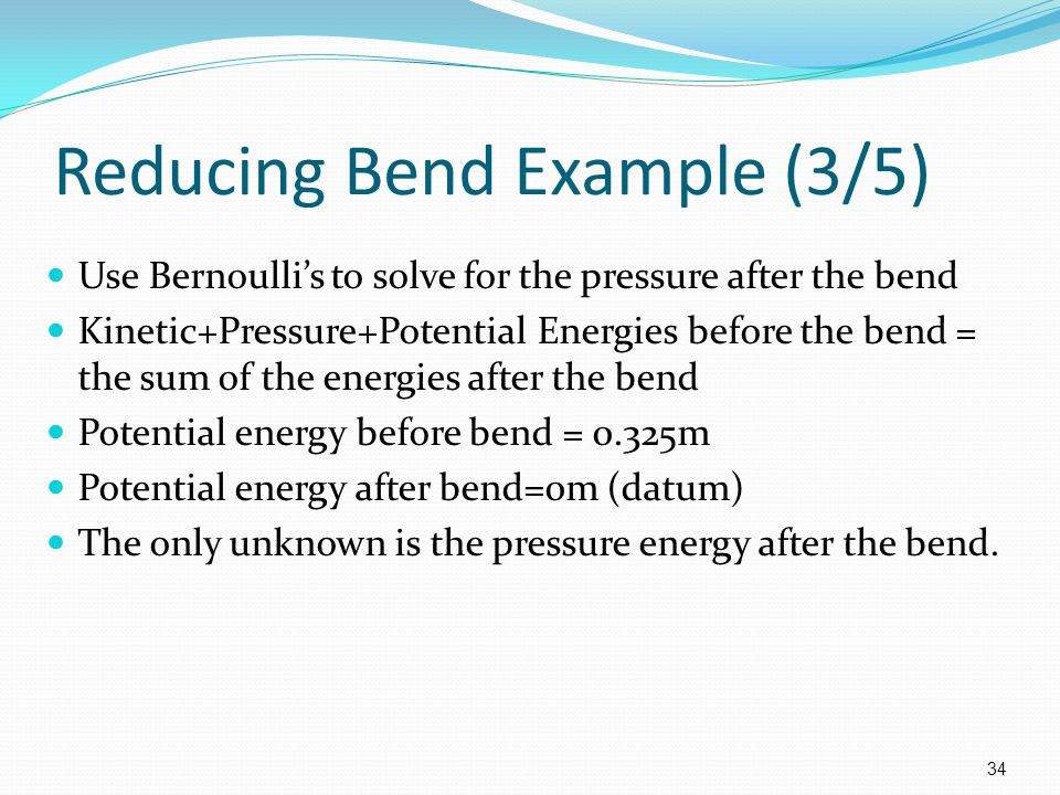 Reducing Bend Example (3/5)