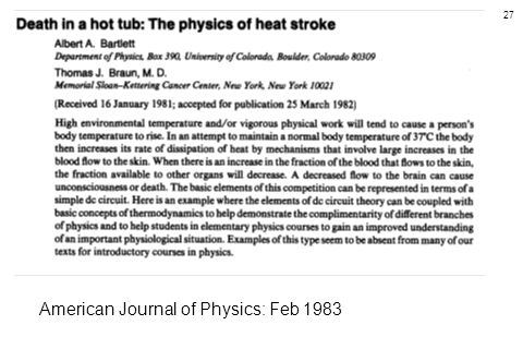 American Journal of Physics: Feb 1983
