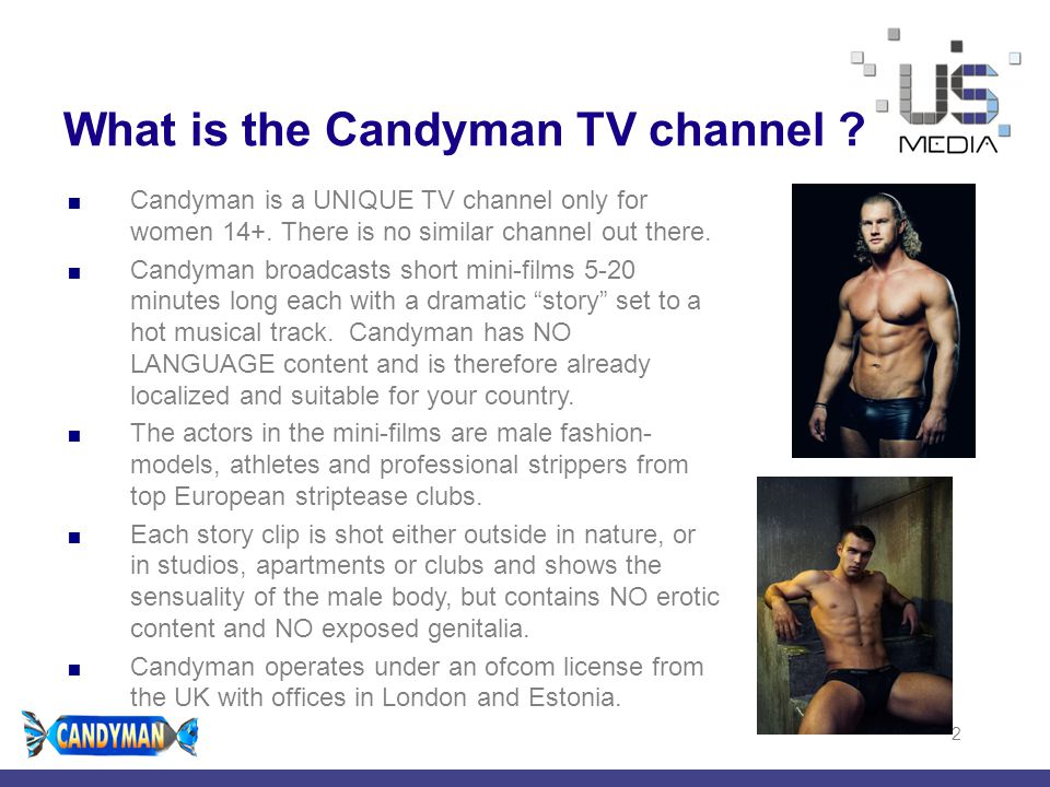 What is the Candyman TV channel