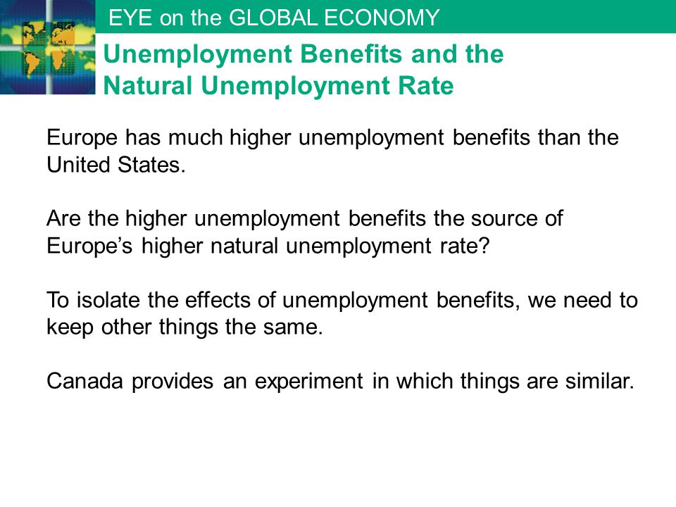 Unemployment Benefits and the Natural Unemployment Rate