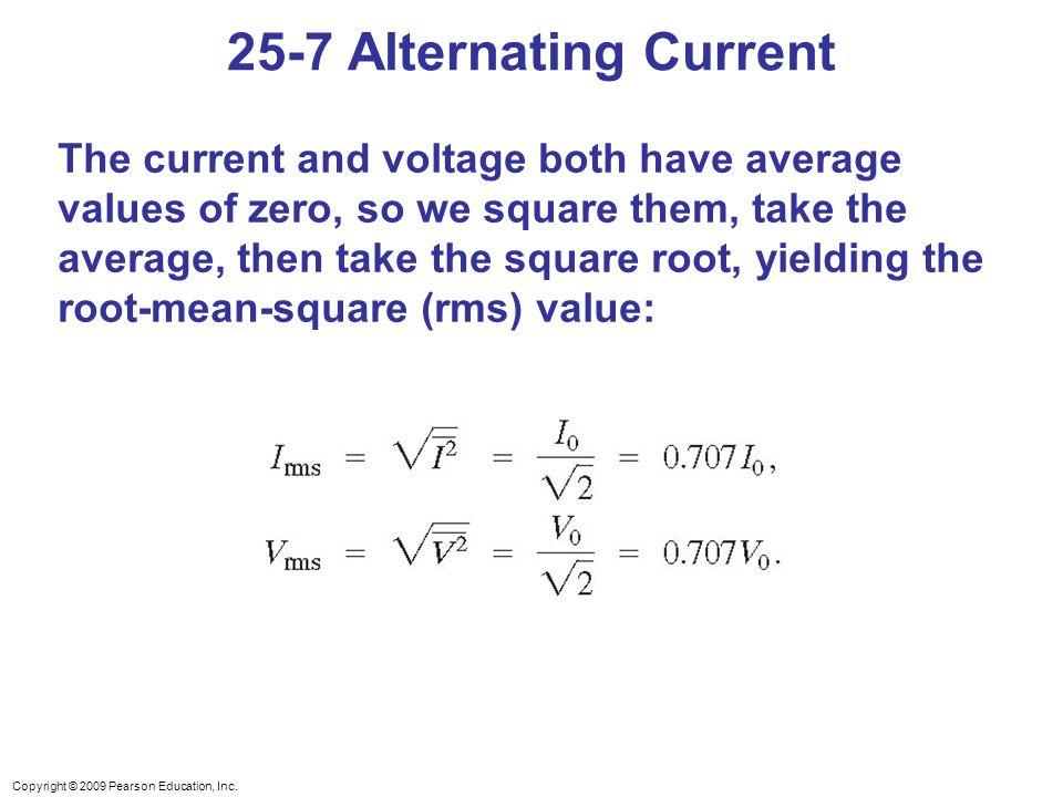 25-7 Alternating Current