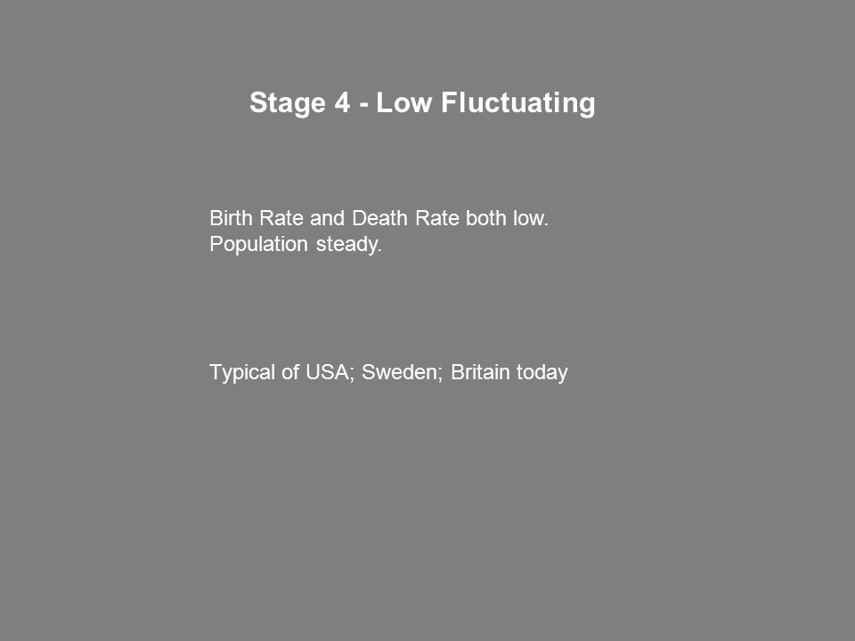 Stage 4 - Low Fluctuating