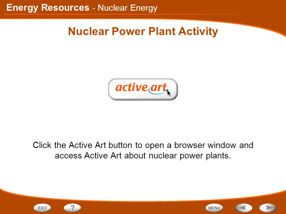 Nuclear Power Plant Activity