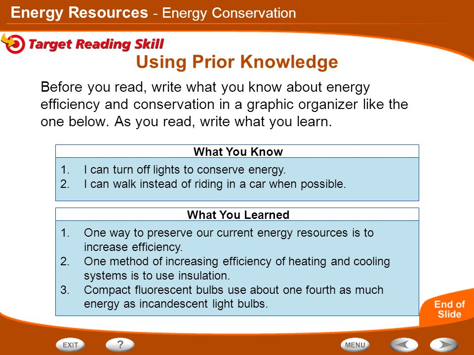 Using Prior Knowledge - Energy Conservation