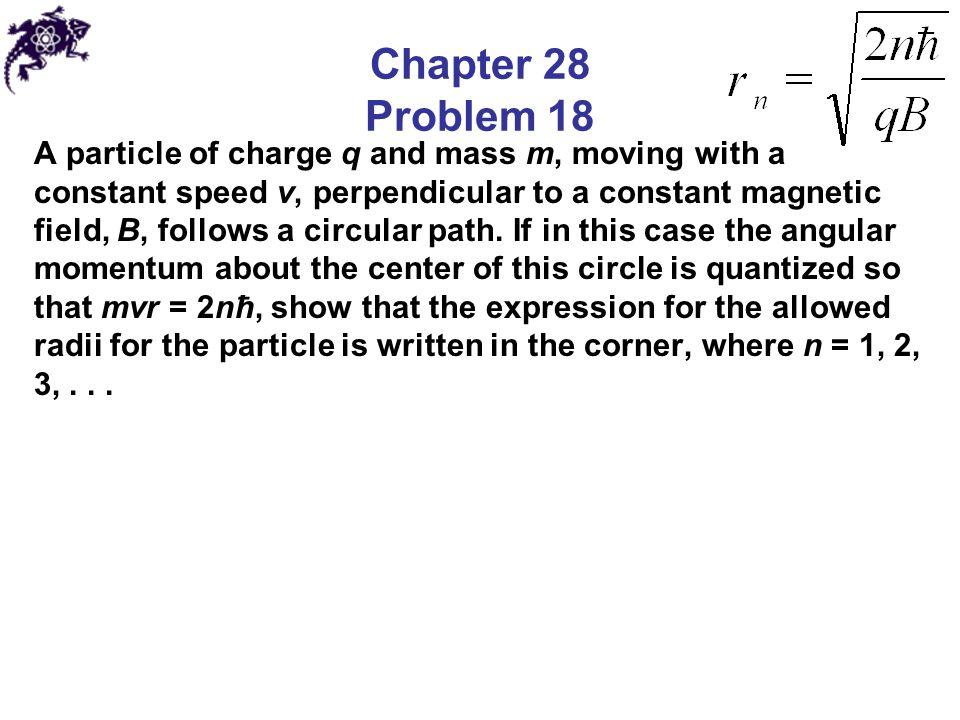 Chapter 28 Problem 18