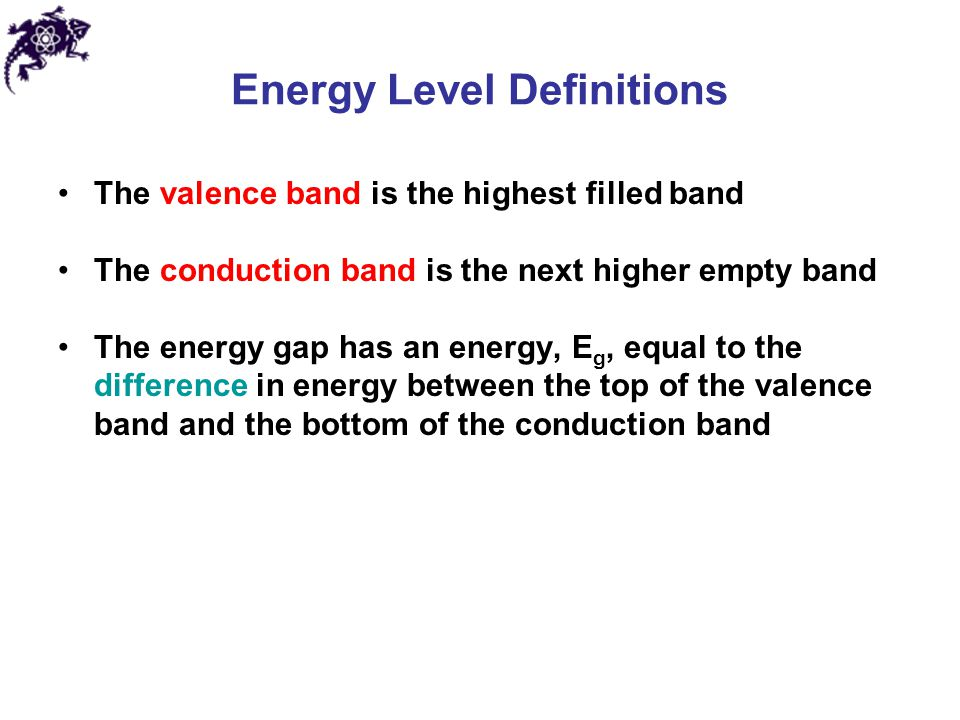 Energy Level Definitions