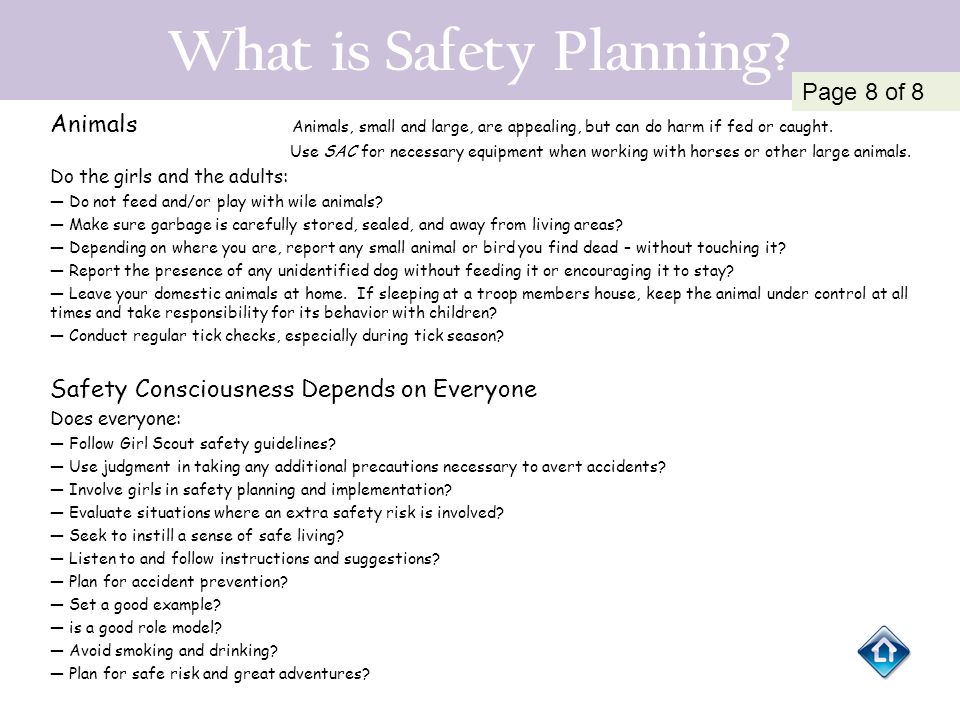 What is Safety Planning