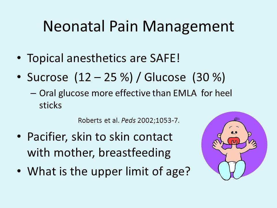 Neonatal Pain Management