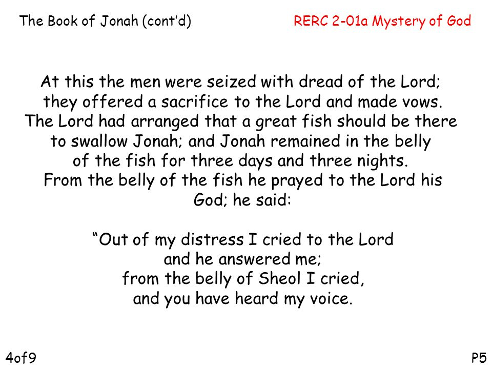 At this the men were seized with dread of the Lord;