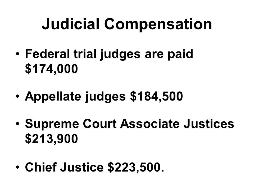 Judicial Compensation