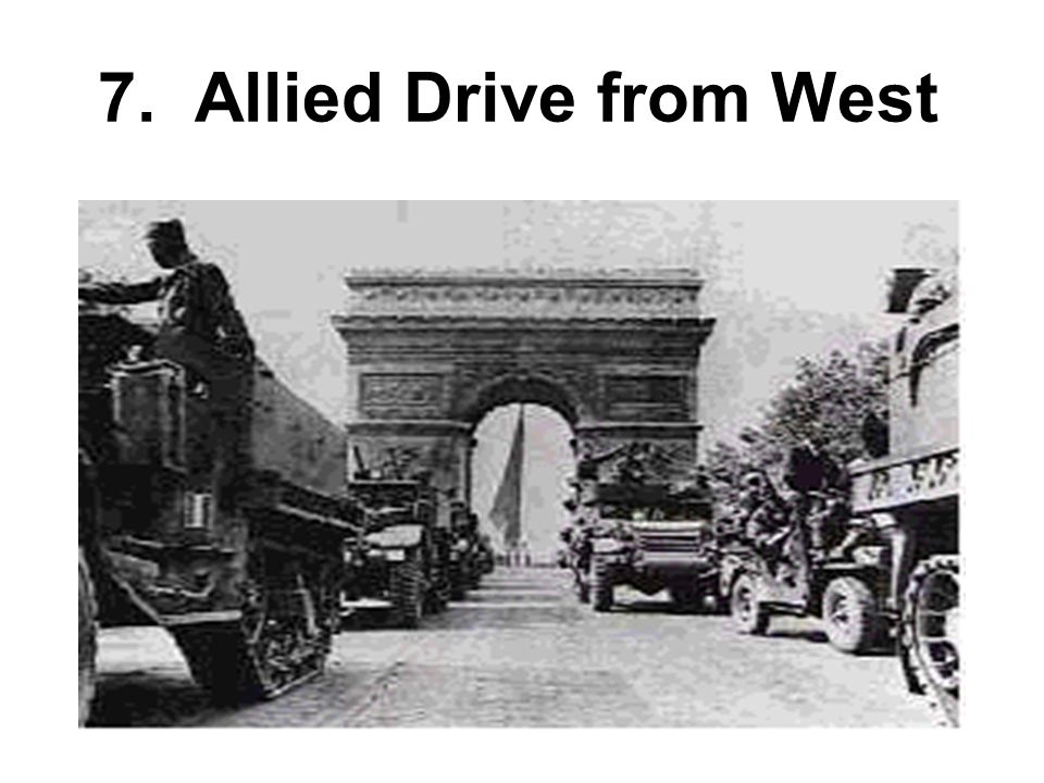 7. Allied Drive from West