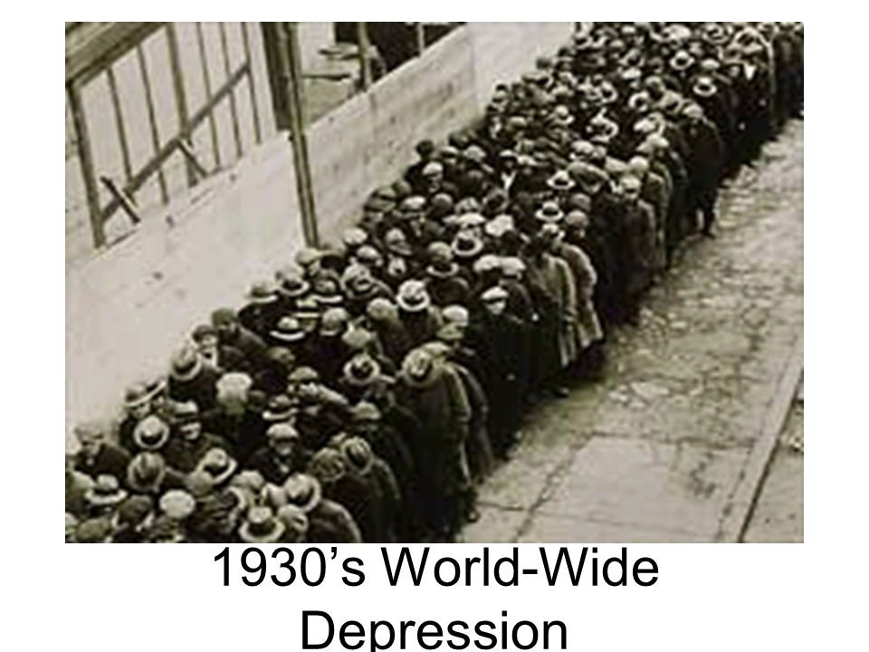 1930's World-Wide Depression