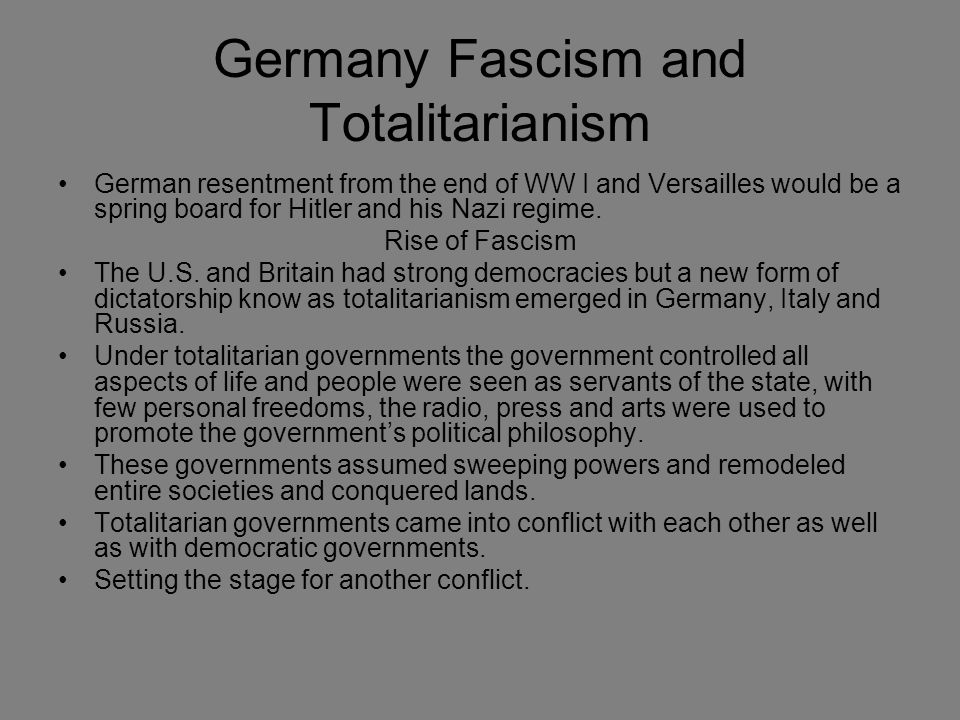 "how totalitarian were fascist italy and The term ""totalitarian"" had been coined as a slur against fascism by italy's liberal  opposition, but by the mid-1920s mussolini and his followers had appropriated."