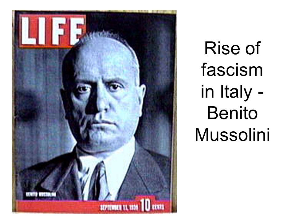 benito mussolini and the rise of fascism More strident opponents have likened mr trump to adolf hitler and benito mussolini  rise of trump tracks debate over fascism order reprints.