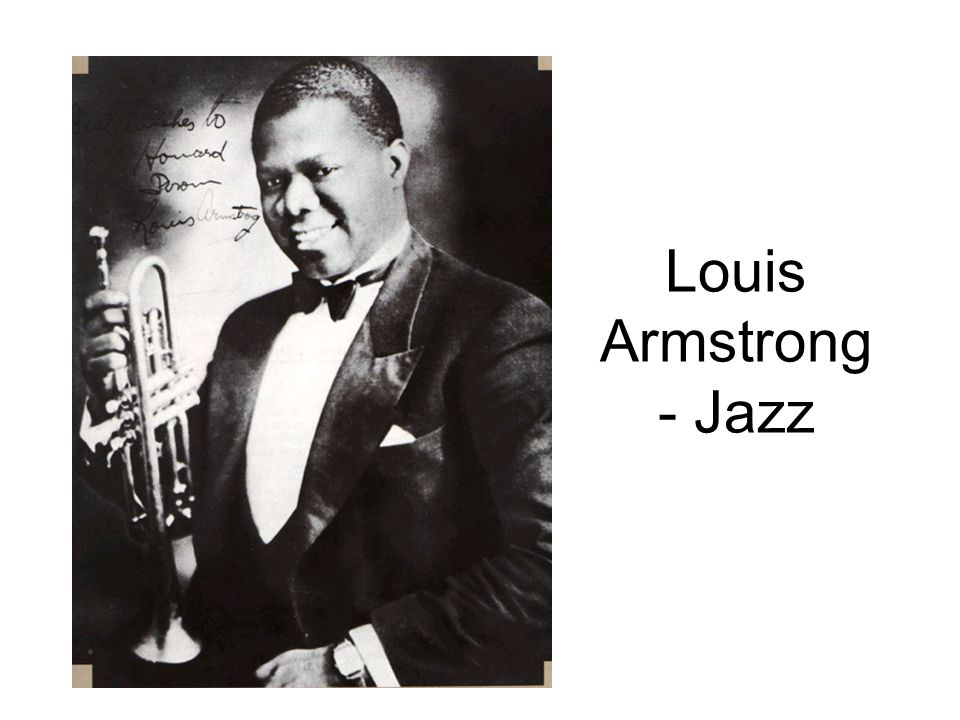 Louis Armstrong - Jazz