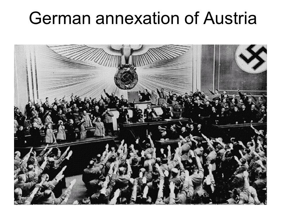German annexation of Austria