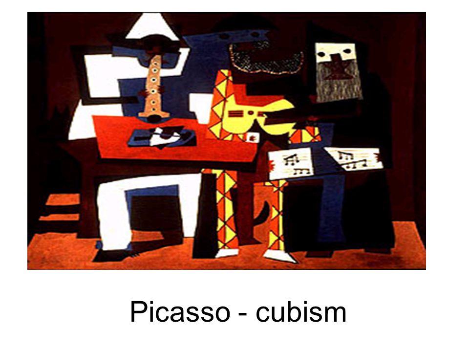 Picasso - cubism