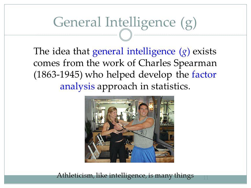 General Intelligence (g)