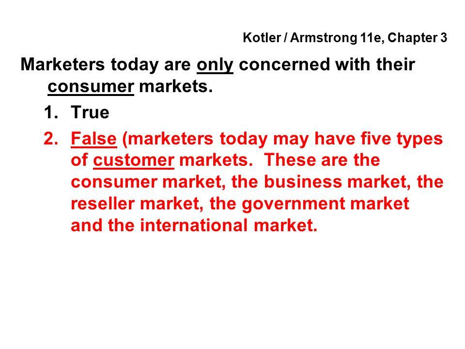 Kotler / Armstrong 11e, Chapter 3