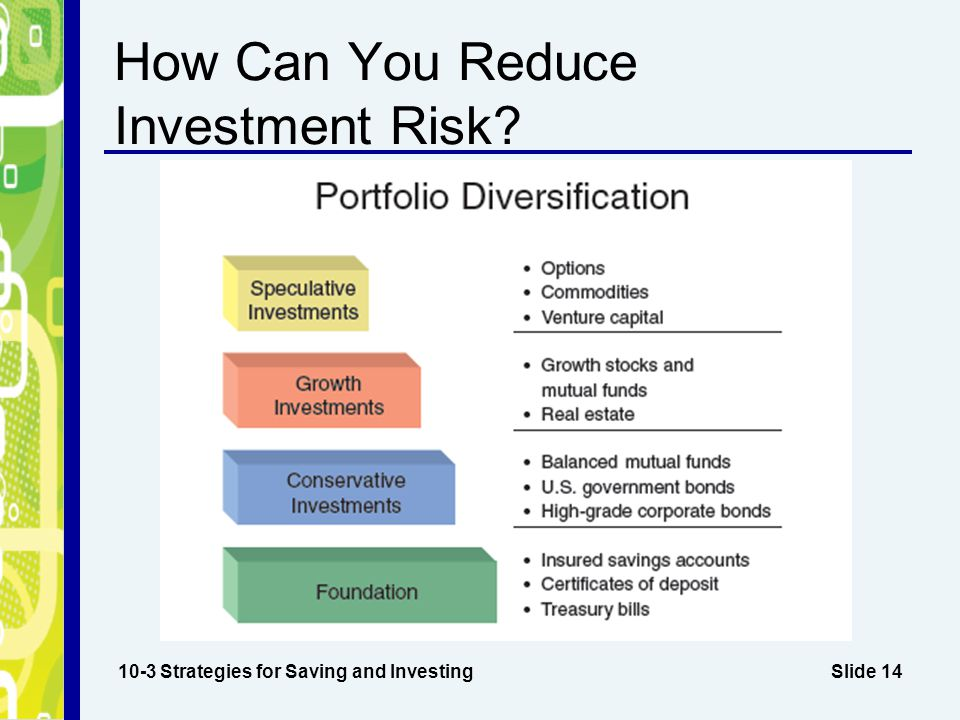 How Can You Reduce Investment Risk