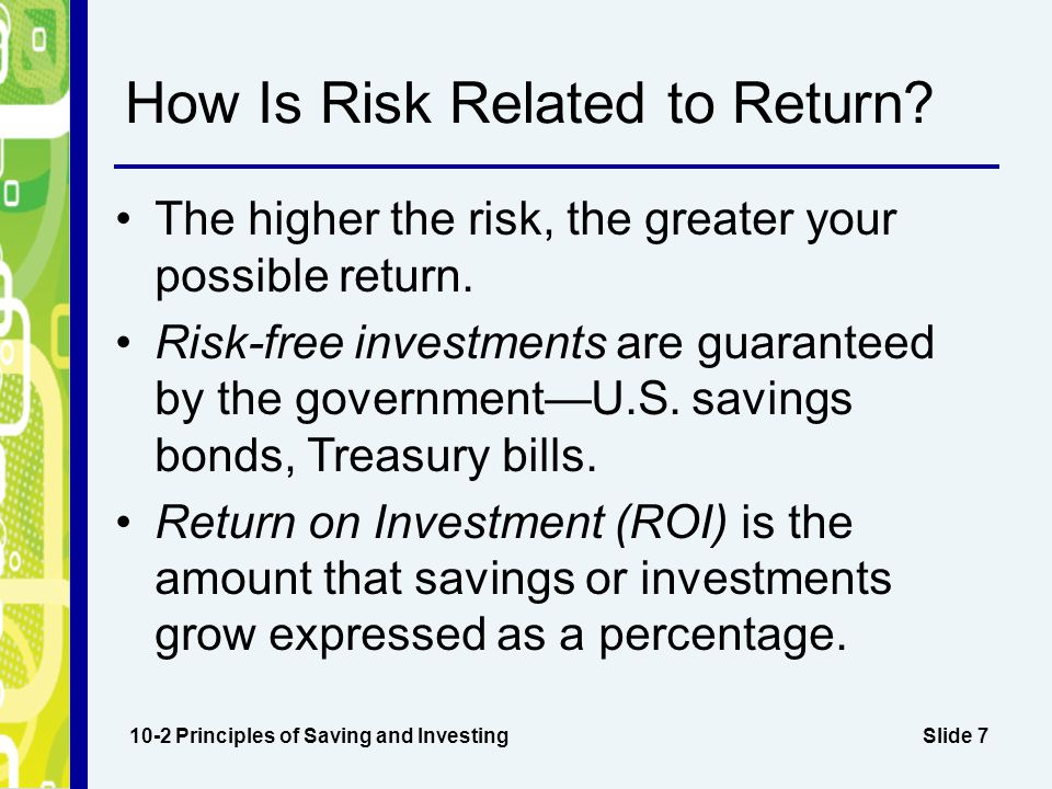 How Is Risk Related to Return