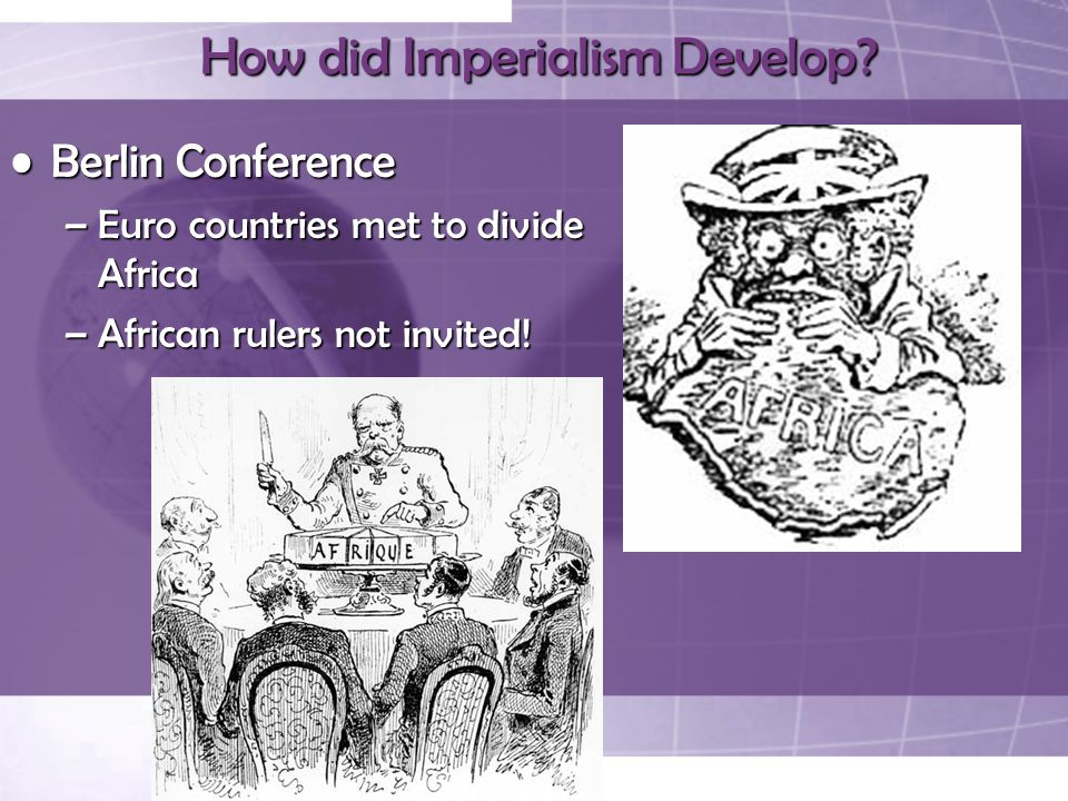 How did Imperialism Develop