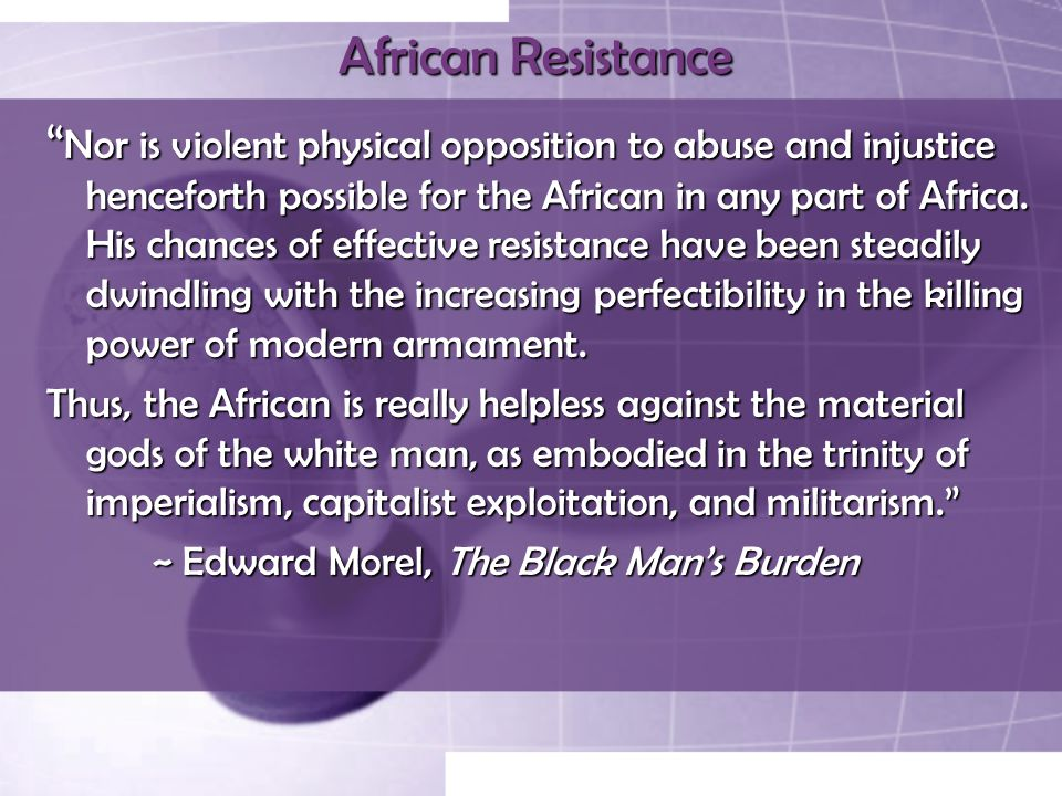 African Resistance