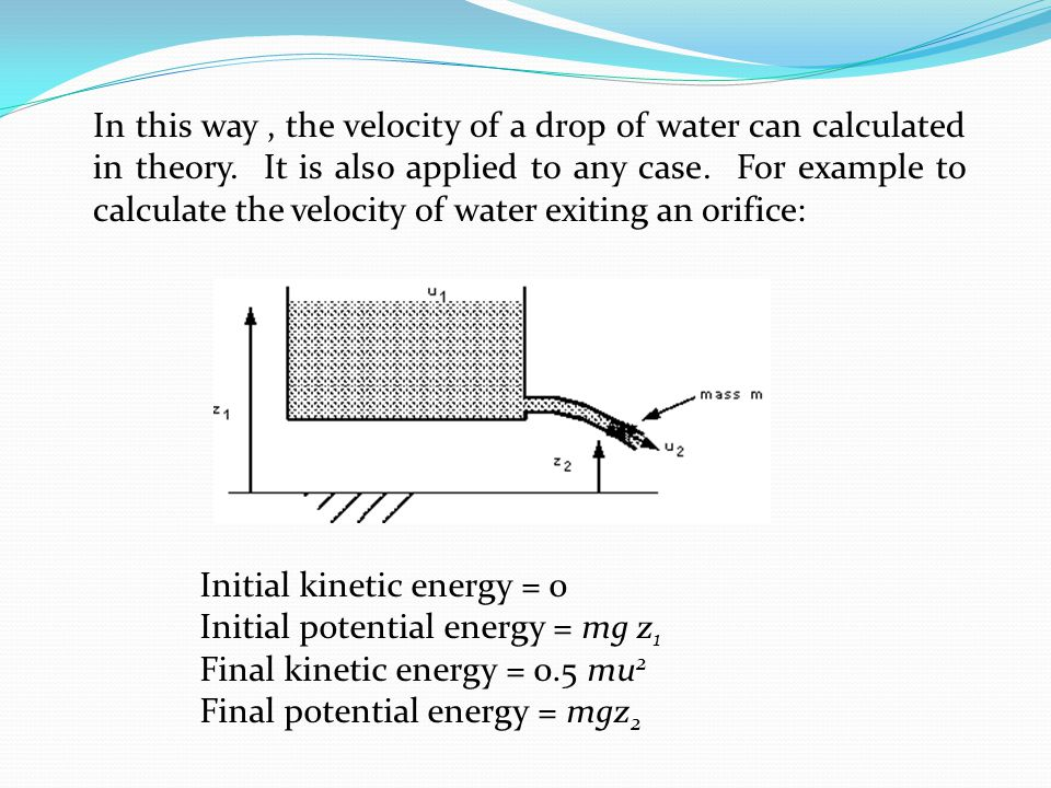 how to find the initial kinetic energy