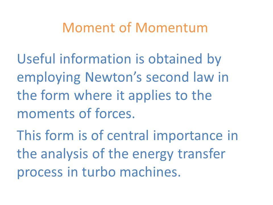 Moment of Momentum