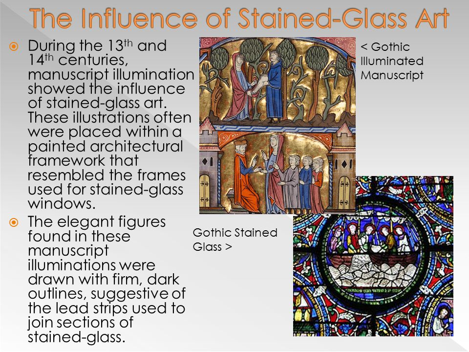The Influence of Stained-Glass Art