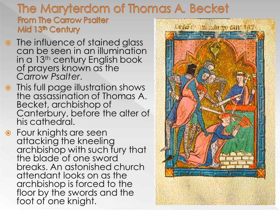 The Maryterdom of Thomas A