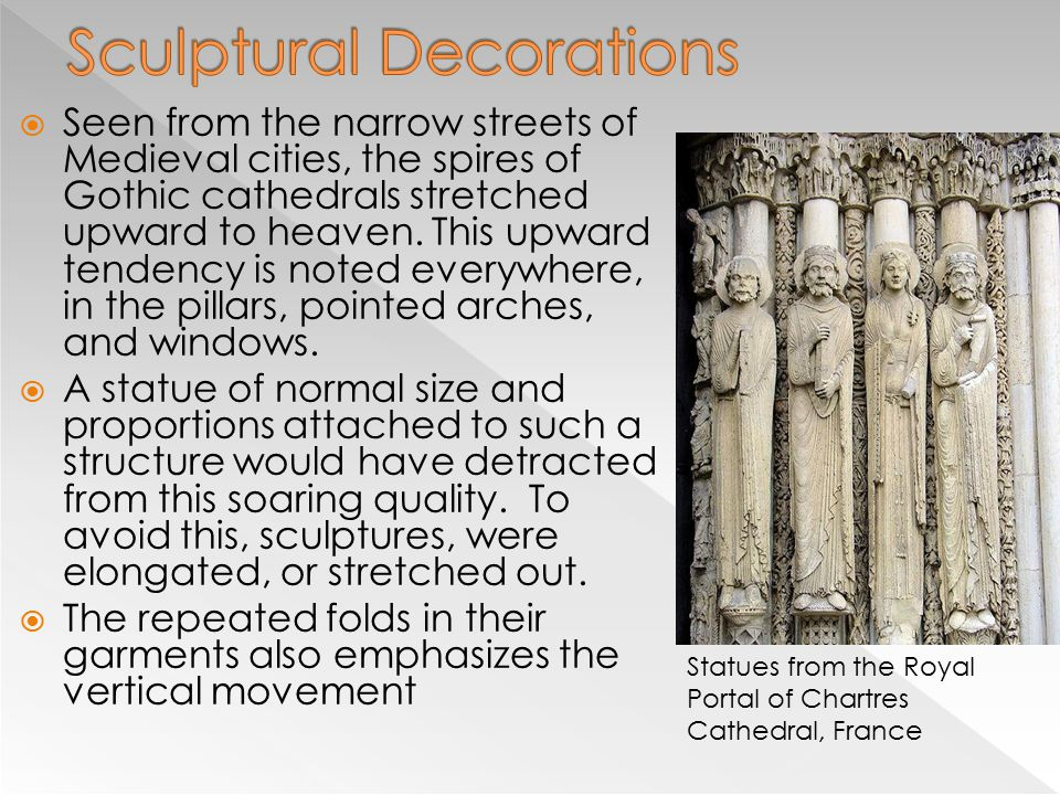Sculptural Decorations
