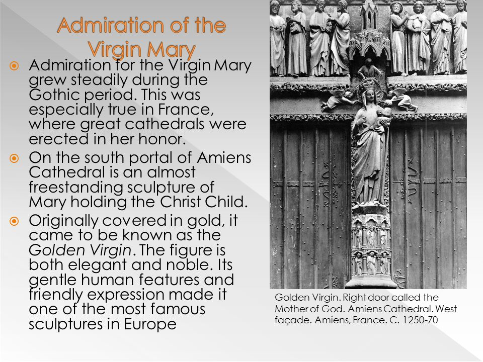 Admiration of the Virgin Mary