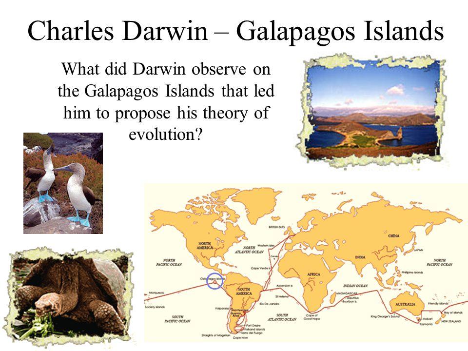Charles Darwin – Galapagos Islands