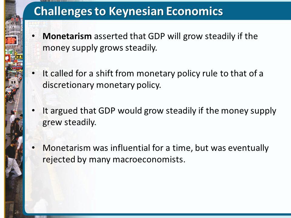 Challenges to Keynesian Economics