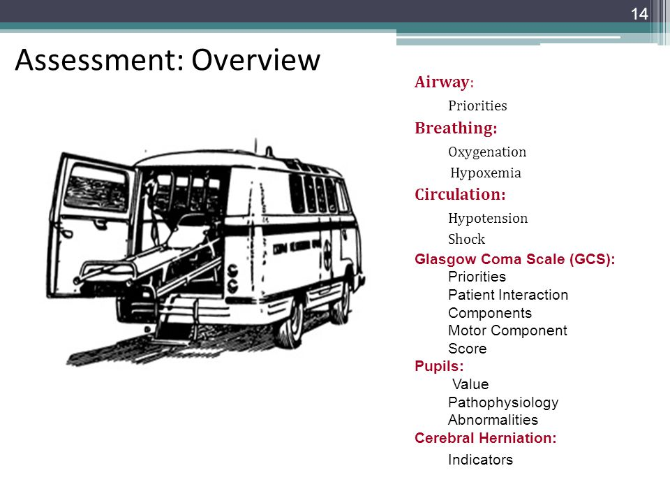 Assessment: Overview Indicators Airway: Priorities Breathing: