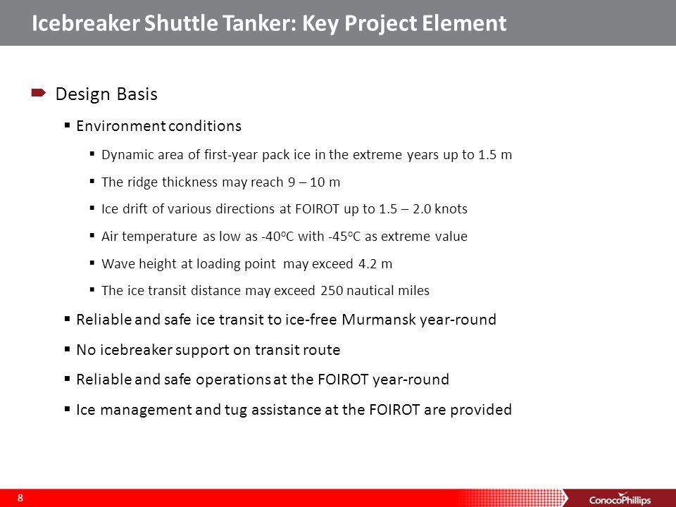 Icebreaker Shuttle Tanker: Key Project Element