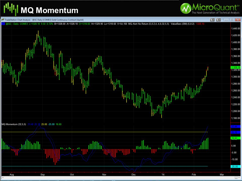 MQ Momentum Specifications of Natural Gas