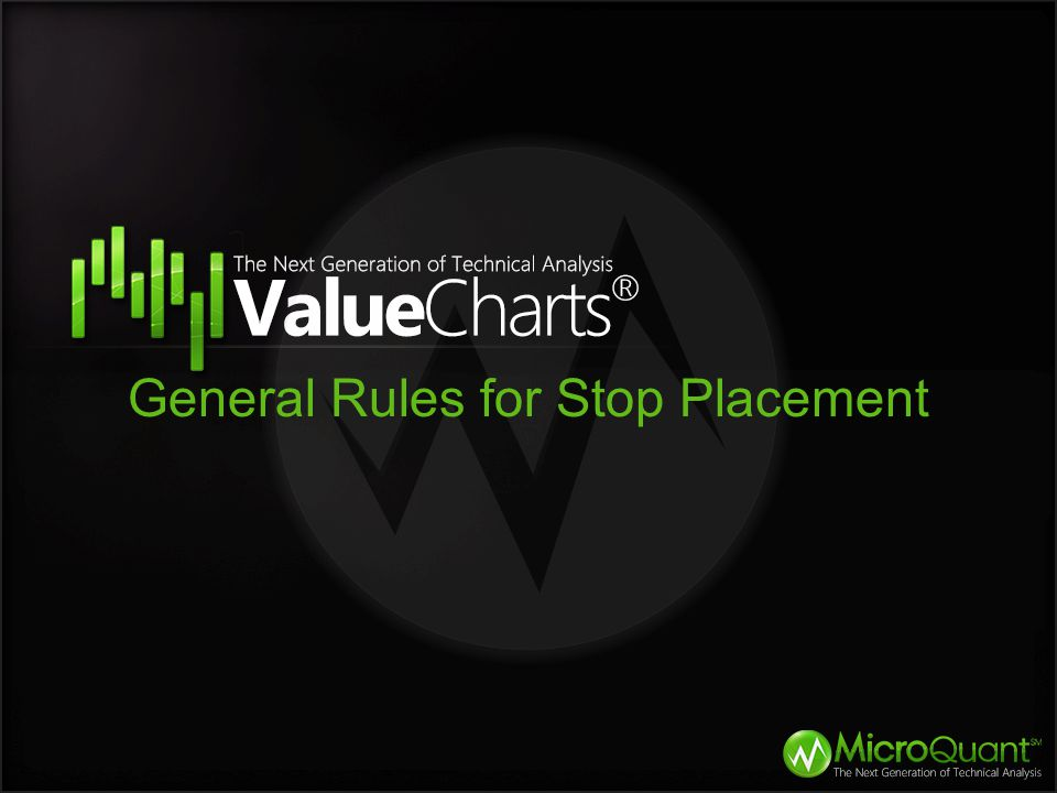 General Rules for Stop Placement