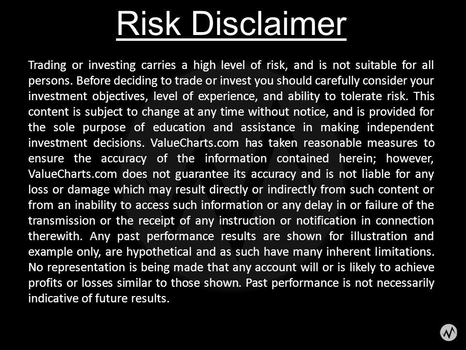 Risk Disclaimer