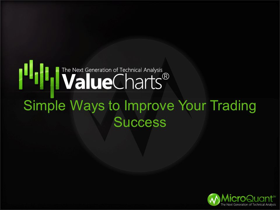 Simple Ways to Improve Your Trading Success