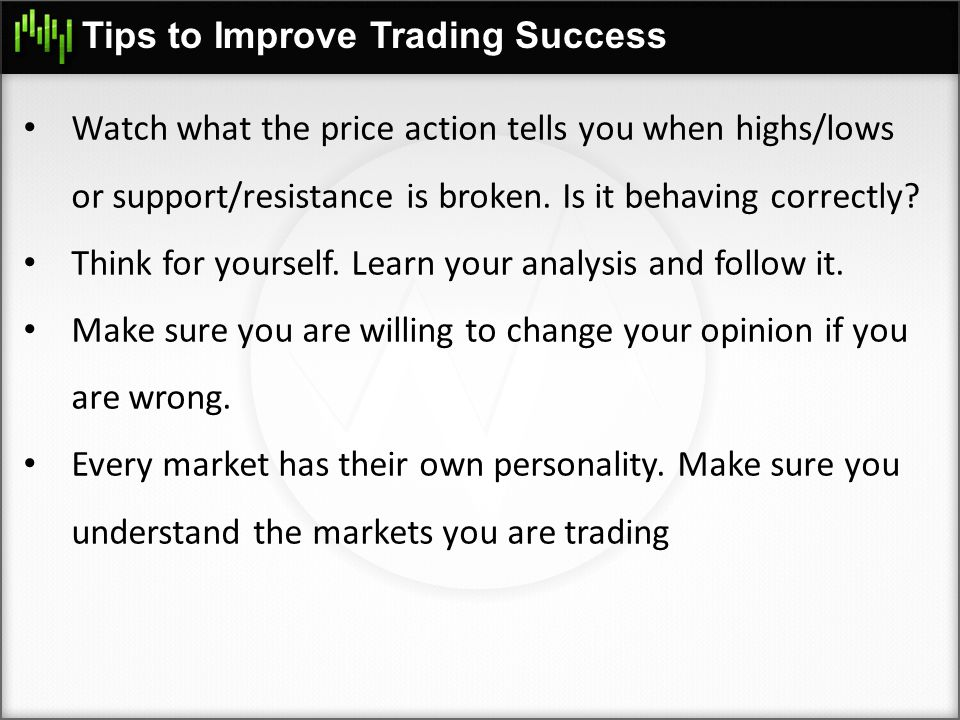 Tips to Improve Trading Success