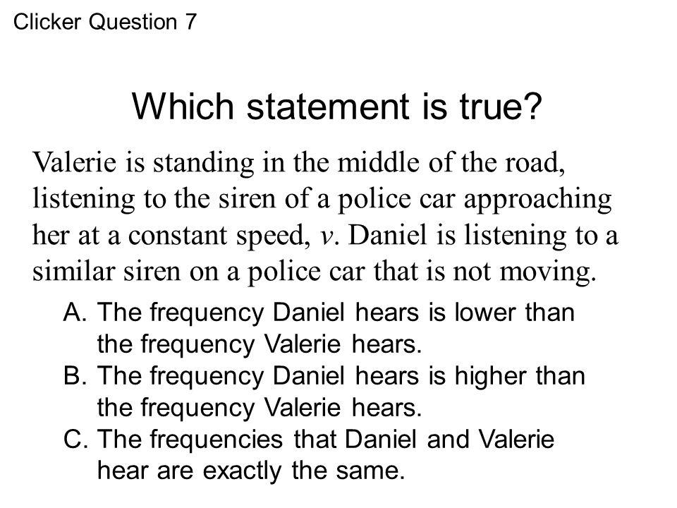 Which statement is true