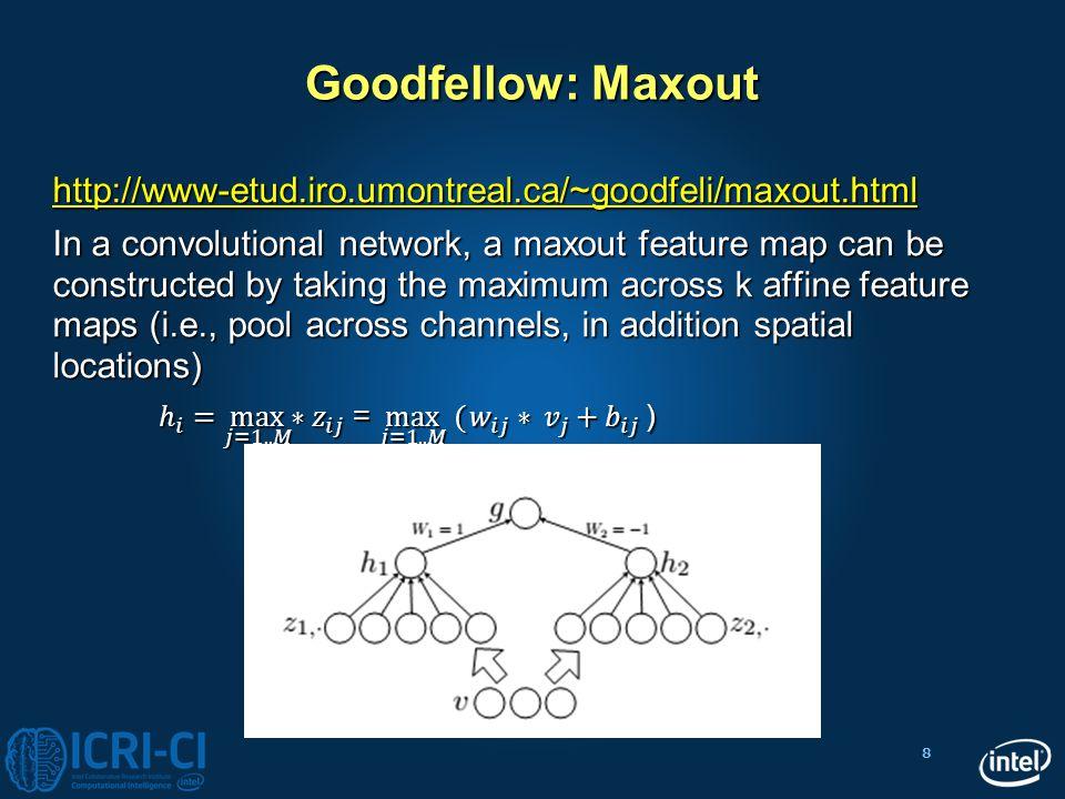 Goodfellow: Maxout http://www-etud.iro.umontreal.ca/~goodfeli/maxout.html.