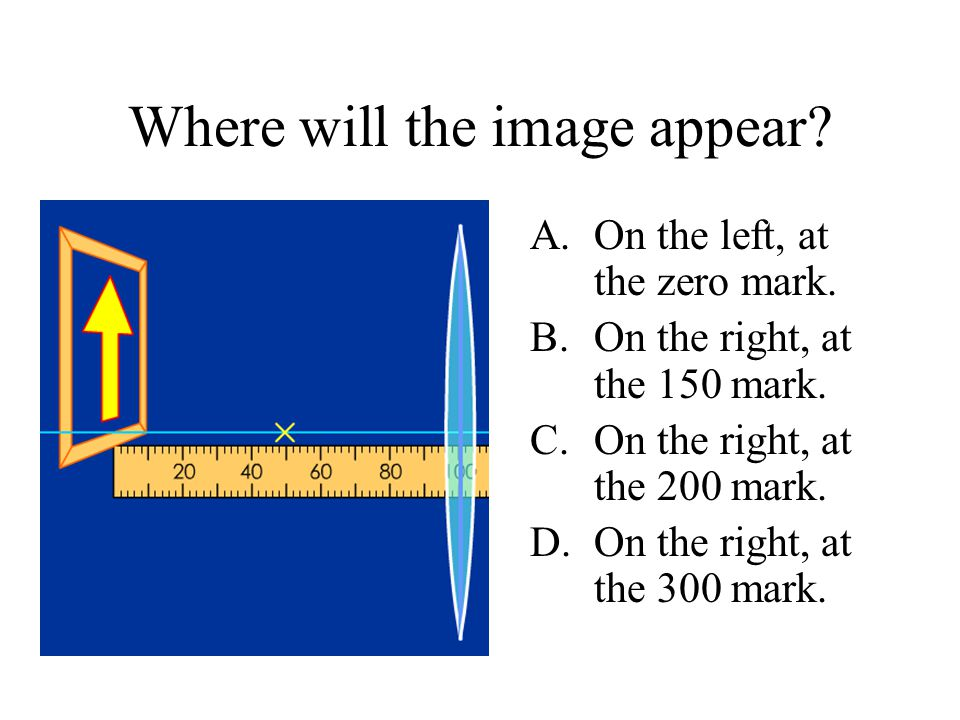 Where will the image appear