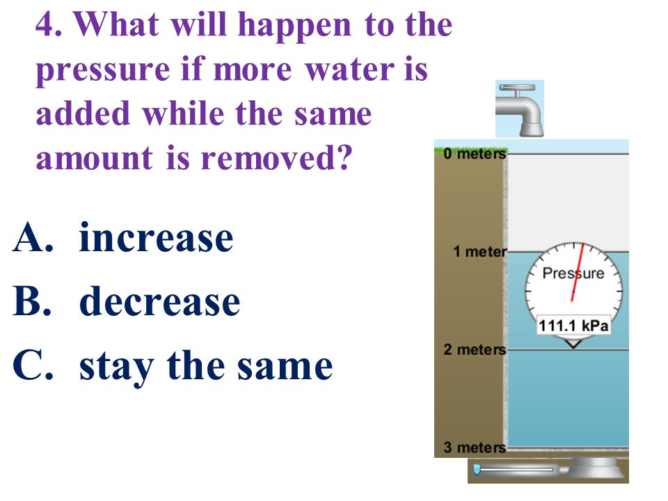 increase decrease stay the same