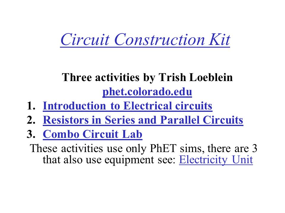 Circuit Construction Kit
